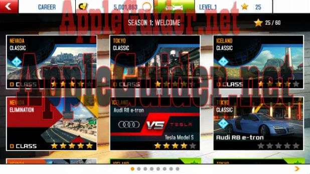 Asphalt 8: Airborne cheat