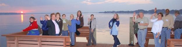 IPMers enjoying their spiritual freedom