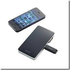 ELECOM Wi-FiカードリーダーSDカードUSBメモリ対応の「MR-WI01BK」について