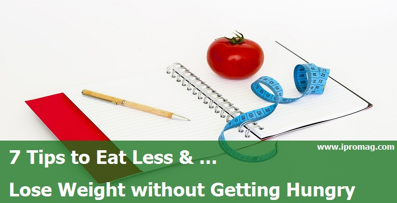 how to eat less and lose weight at home
