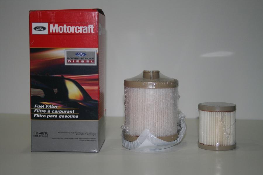 motorcraft 6 0 fuel filter