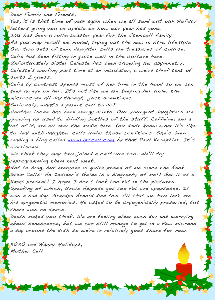 Funny family christmas letters example good resume template funny family christmas letters ten creative christmas letter ideas keeper of the home stem cell family spiritdancerdesigns Image collections
