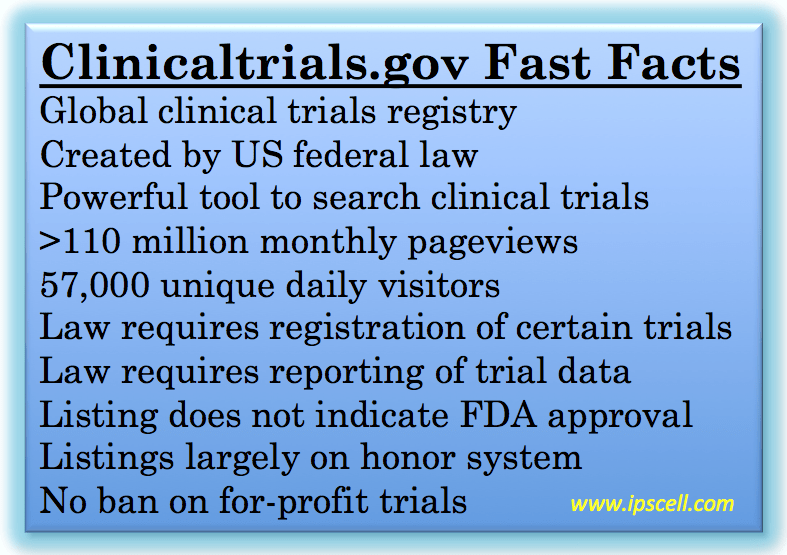 Clinical Trials Information for Patients and Caregivers ...