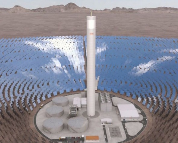 Chile Taps Solar Thermal Energy with Latin America\u0027s First Plant - solar thermal energy