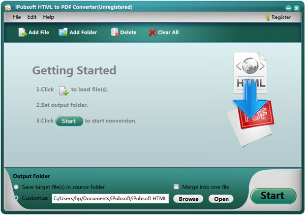 iPubsoft HTML to PDF Converter Save Web Pages into PDF Easily - Convert File To Pdf
