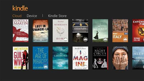 Amazon Launched Free Kindle App for Windows 8/Windows RT