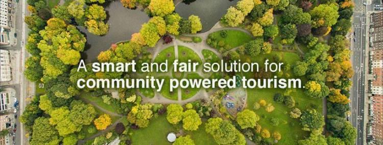 Screenshot από το fairbnb.coop