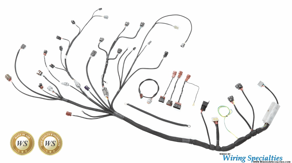 rb25det neo wiring harness for s14 240sx wiring specialties