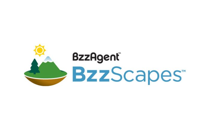 BzzScapes logo
