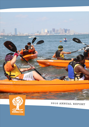 Camp Harbor View Annual Report cover