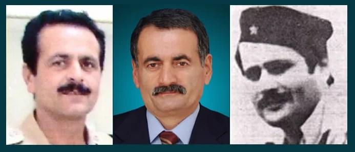 سعید - اکبر و حبیب شهید