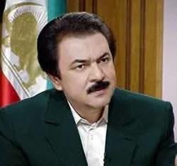 مسعوى رجوی رهبر مقاومت ایران
