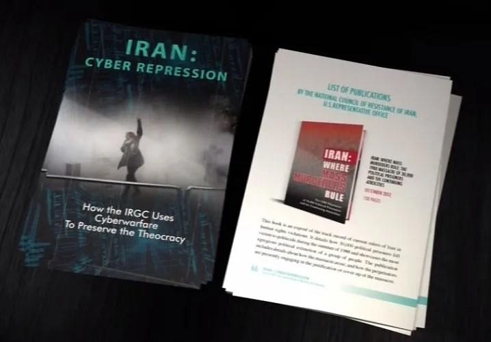 کتاب « ایران سرکوب سایبری- چگونه سپاه پاسداران جنگ سایبری را برای حفظ استبداد مذهبی