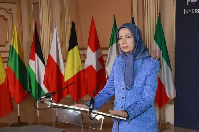 Maryam Rajavi: Europe must end its silence and inaction about Ir