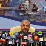 Major General Mohammad Ali Jafari, Commander of Iran's Islamic Revolution Guards Corps.
