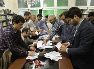 After the polls close the ballots are openly counted in each polling station with observers present.
