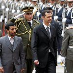 Presidents Mahmoud Ahmadinejad of Iran, left, and Bashar al-Assad of Syria, center, in Tehran in 2007.(Photo Credit: Atta Kenare/Agence France-Presse — Getty Images).