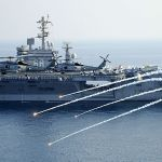 USS nimitz in persian Gulf