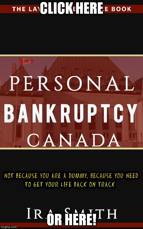 PERSONAL BANKRUPTCY CANADA: Not Because You Are A Dummy, Because You Need To Get Your Life Back On Track, ira smith trustee, toronto bankruptcy, vaughan bankruptcy, consumer proposal, bankruptcy laws in bc, bankruptcy information online, canadian bankruptcy act, bia, canadian bankruptcy laws, bankruptcy protection canada, canadian bankruptcy laws and regulations, personal bankruptcy protection canada, canadian personal bankruptcy laws, canadian personal bankruptcies laws