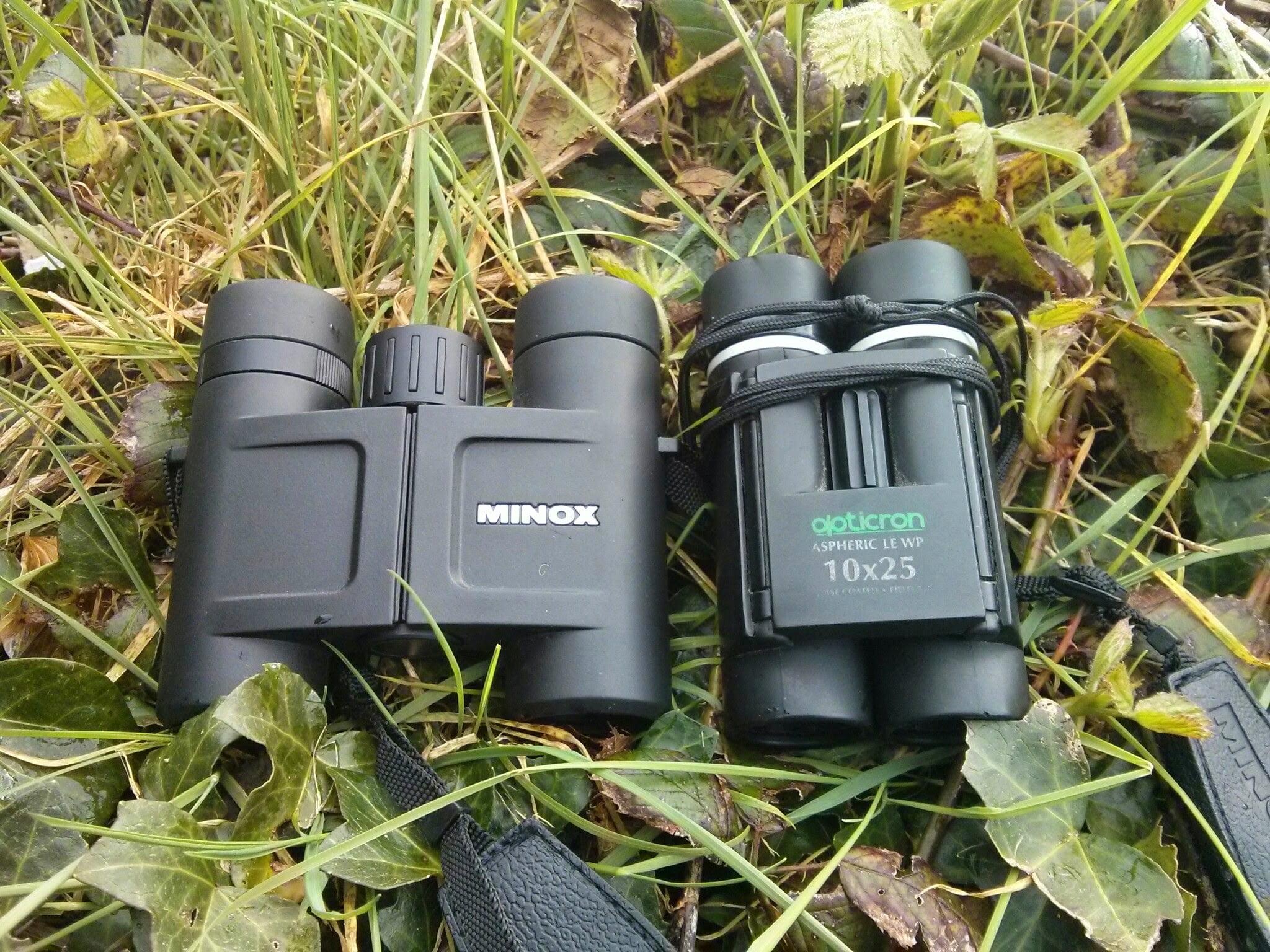 how to put the strpa on celetar binoculars