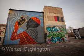 Aerosol-Arena Magdeburg |  Freiluft-Atelier für  Graffiti und Streetart Künstler