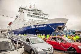 Einschiffen in Amsterdam