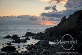 Sonnenuntergang an der schottischen Westküste –  Rhinns of Galloway