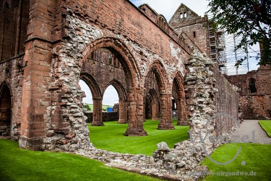 Sweetheart Abbey –  Zisterzienserkloster aus dem 13. Jahrhundert