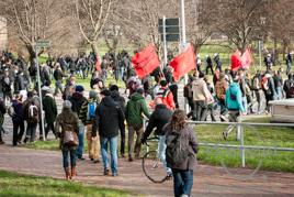 Demonstration gegen Rechts - Magdeburg 18. Januar 2014