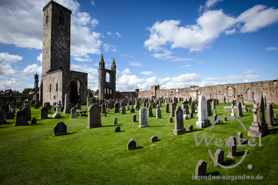 St. Andrews Cathedral - Halbinsel Fife - Schottland