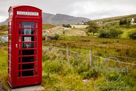 Isle of Skye –  Telefonzelle