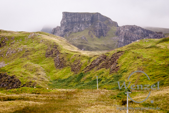 Isle of Skye –  Quiraing-Massiv