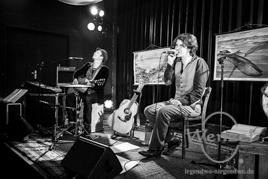 Felix Meyer auf Landstraßenmusik Tour im Moritzhof Magdeburg