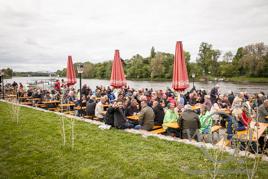 Mit Bollerwagen, Fahrrad oder per pedes - Herrentag Magdeburg 2015