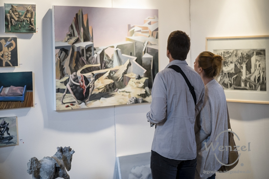 Kunst / Mitte 2015 - Die Kunstmesse für Mitteldeutschland - Salbker Wasserturm