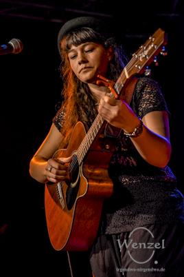 Leona Heine beim Festival Gundis Lieder – Gundis Themen im freiLand Potsdam