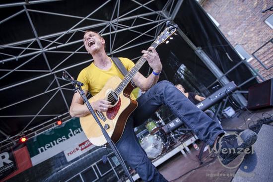 Ruben-Wittchow & Band  beim Festival Gundis Lieder – Gundis Themen