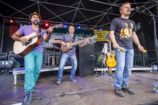 Eisbrenner & Latino Conexion beim Festival Gundis Lieder – Gundis Themen