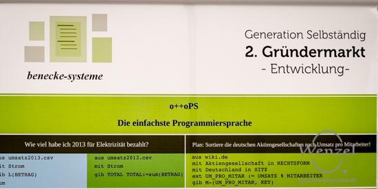 Programmiersprache  otto-PS - Gründermarkt Magdeburg 2015