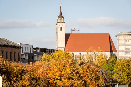 Magdeburg im Herbst - Johanniskirche