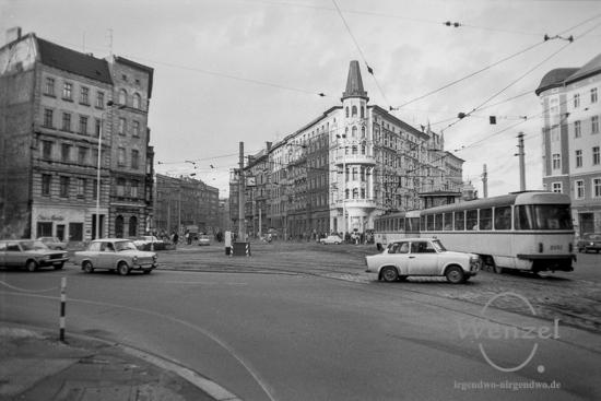 Herbst 1988 – als Trabis und Wartburgs noch den Hasselbachplatz umrundeten