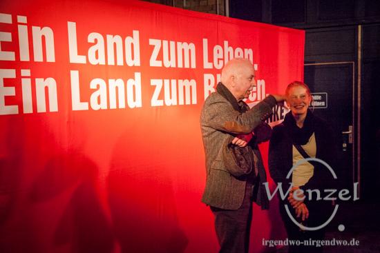 Landtagswahl Sachsen-Anhalt - Wahlparty DIE LINKE