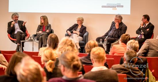 Visionen für Magdeburg als Kulturhauptstadt 2025 – Podiumsdiskussion im Leibniz-Institut für Neurobiologie
