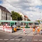 Sperrung Kreuzung Südring – Halberstädter Straße