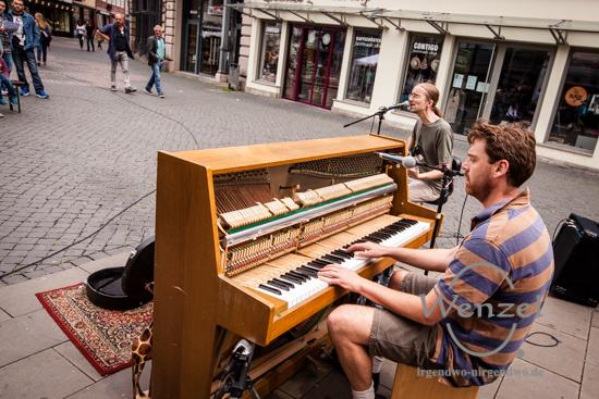 Herr Berger - buskers – Straßenmusikfestival Braunschweig