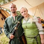Frühmittelalterliche Hochzeit am Salbker See
