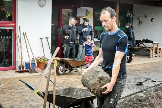 11. Magdeburger Freiwilligentag  –  Kita Kleiner Raabe –  Foto Wenzel-Oschington.de