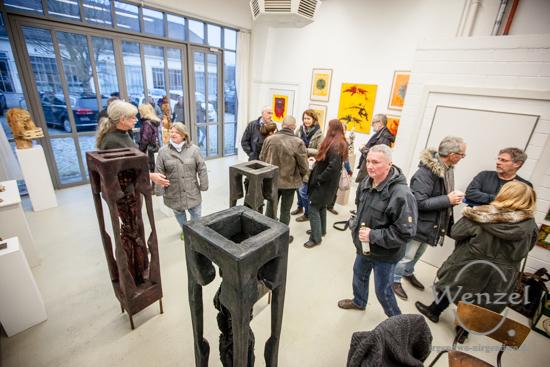 Schnee von morgen -  Ausstellung im Atelier 4 in den Tessenowgaragen –  Foto Wenzel-Oschington.de