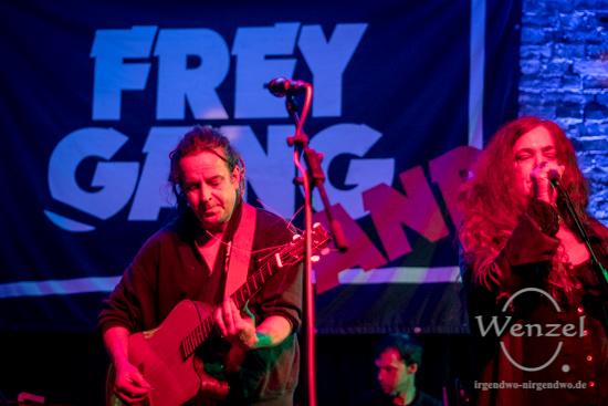 Ein geil & steiles Konzert mit der Freygang-Band im HOT Alte Bude in Magdeburg Buckau. –  Foto Wenzel-Oschington.de
