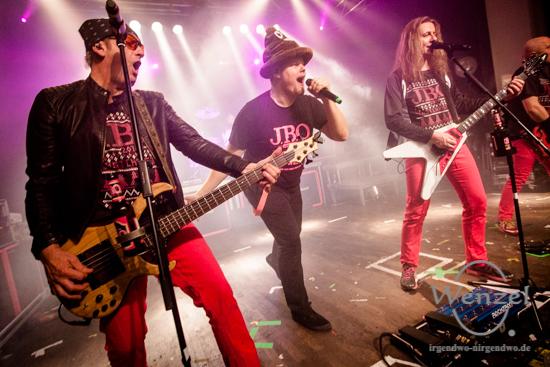 J.B.O - Blast Christmas Tour – Factory Magdeburg –  Foto Wenzel-Oschington.de